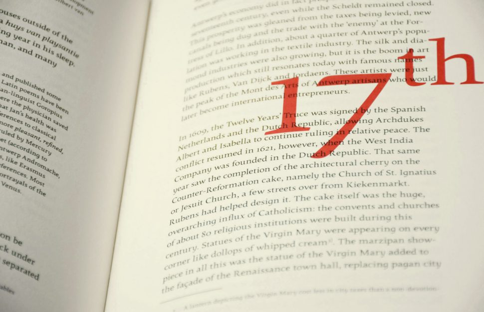 Detail Biecorff Typography