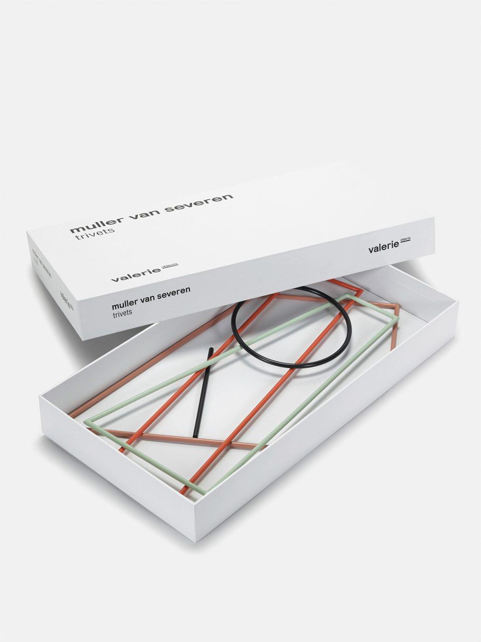 valerie objects Muller Van Severen trivets Packaging
