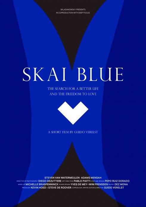 Skai Blue Poster - undercast