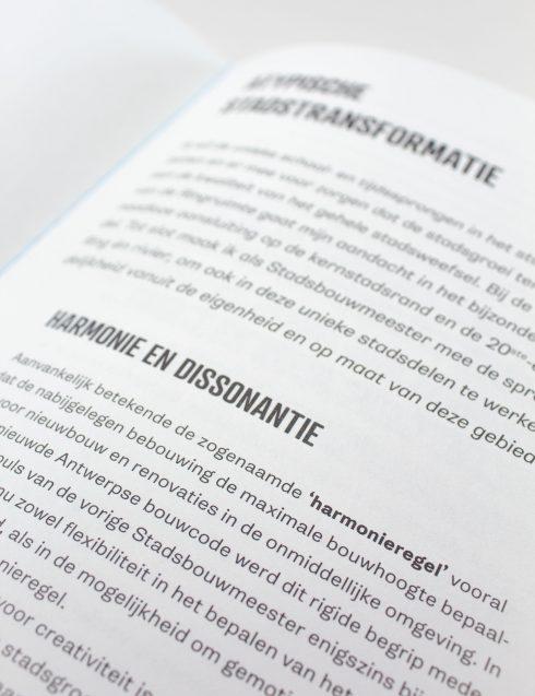 Stadsbouwmeester Antwerpen Beleidsnota