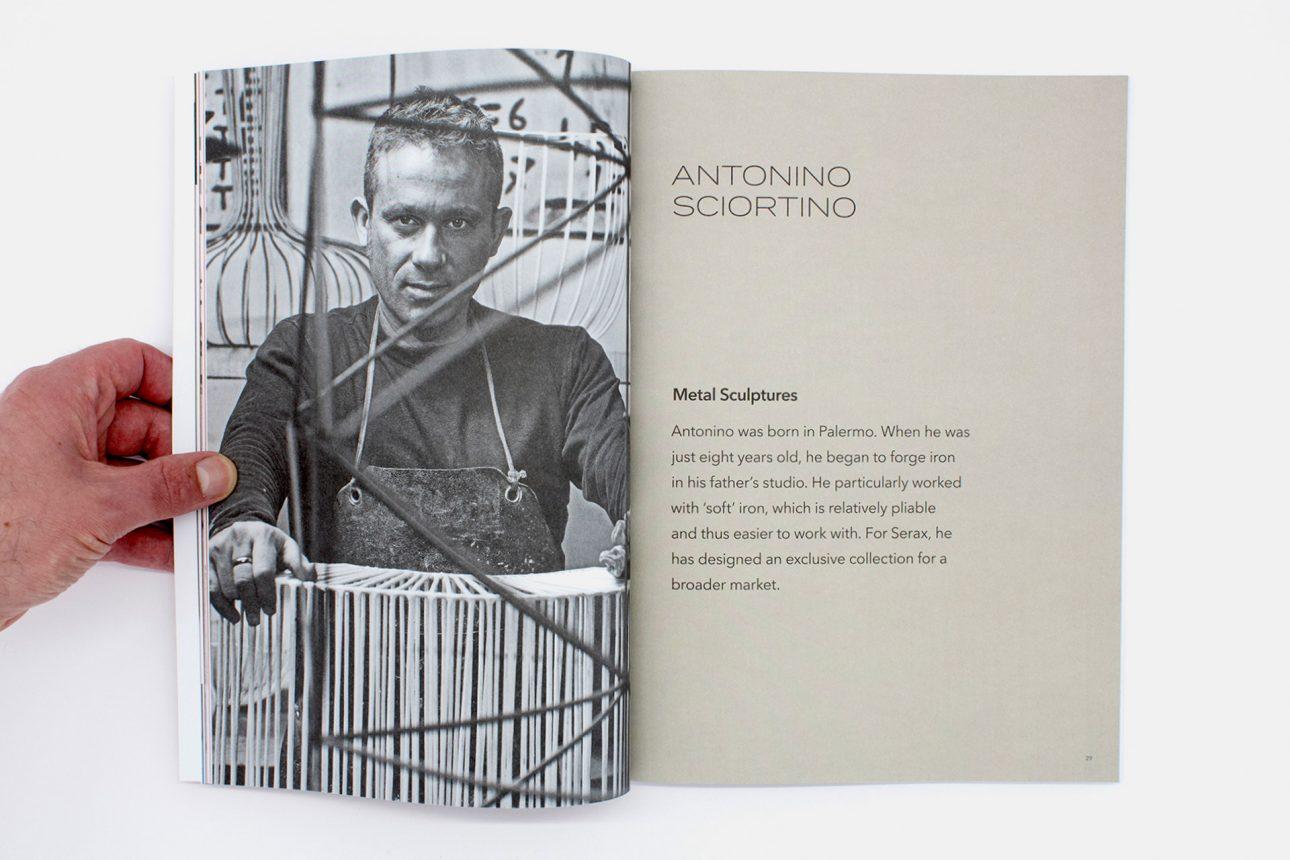 Serax catalog Antonino Sciortino SS18