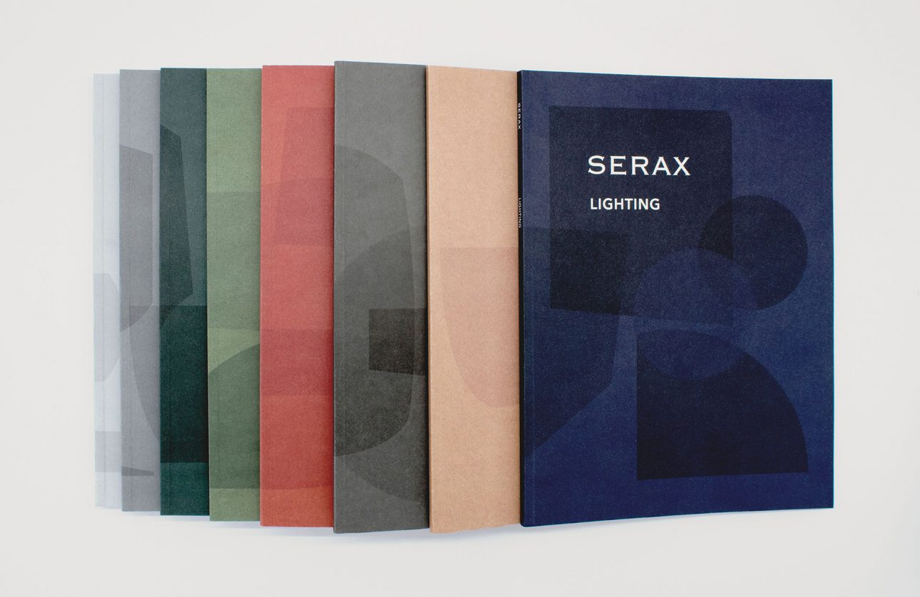 Serax overview catalogs covers SS18