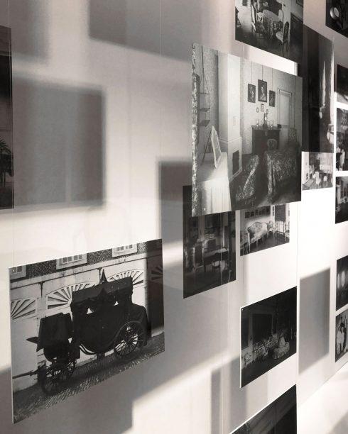 Noble Living exhibition photo wall Leuven